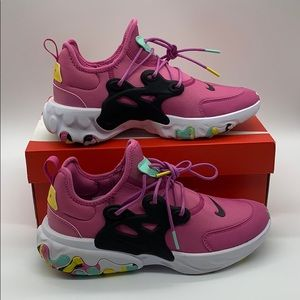 Nike React Presto MC GS Cosmic Fuchsia Emerald Ris